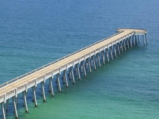 Destin navarre beach florida and the gulf coast area for Destin fishing pier